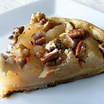 recette Tarte pommes, poires et fruits oléagineux