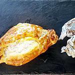 recette Pavé de saumon feuilleté et ses pommes de terre en papillotte