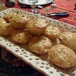 recette Muffins salés au crabe, oignons et fromage