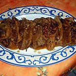 recette Rouelle de porc et sa sauce madère
