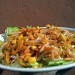 recette Salade carottes germes de soja