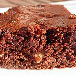 """recette Brownies """"sains"""" à la noisette"""