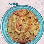 recette spaghetti sauce crevettes curry