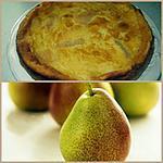 recette Flognarde aux poires et au Grand Marnier