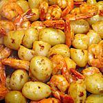 recette Pommes de Terre Nouvelle et Queues de Crevettes