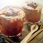 recette Mini crumble aux fruits rouge