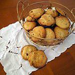recette cookies croustillants aux noisettes