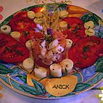 recette Salade de crevettes acidulées