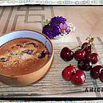 recette Clafoutis métissé aux cerises de France au lait de coco et zeste de citron vert
