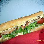 recette le sandwiches du stade vel' ( poulet-curry )