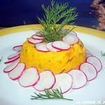 recette flans de carottes a l'aneth