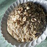 recette Rizotto aux champignons et son croquant de noisettes