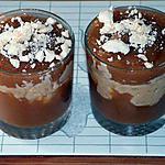 recette Verrines pomme rhubarbe