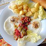recette Mokli tunisien : déjeuner frit pour jours chauds.