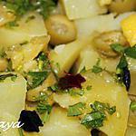 recette Salade de pommes de terre au citron confit
