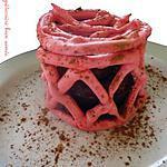 recette Fondant/coulant/mi-cuit au chocolat dans sa cage meringuée