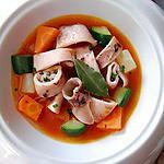 recette Calamars à la Luciana de Vittorio Beltramelli