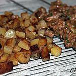 recette Brochettes de boeuf marinées au gingembre et citron