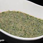 recette Chutney menthe coriandre