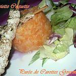 recette Purée de carottes gourmande