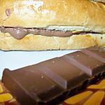 recette Petits pain au lait au chocolat