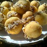 recette Boules de neige à la marocaine