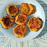 recette Bouchées de courge au fromage d'après recette de Yummifood