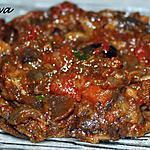 recette Salade d'aubergines ou zâalouk