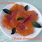 recette Salade d'oranges comme au Maroc