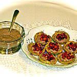 recette CREME DE FRAISE DES BOIS  EN COQUE CROUSTILLANTE