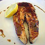 recette SAUMON ASIATIQUE (cuit à la plancha)