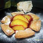 recette marguerite aux nectarines