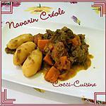recette Navarin Créole