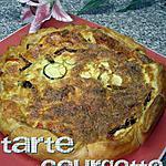recette tarte courgette tomate