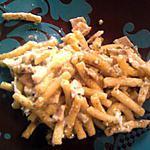 pâtes à la carbonara façon risotto