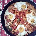 recette oeufs frits espagnoles