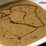 recette Bissara ou velouté de pois cassés au cumin