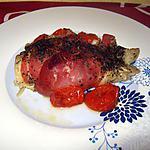 recette Papillotes de cabillaud en habit de Parme
