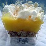 recette tarte au citron en verrine