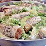 recette Nems aux crevettes et crabes