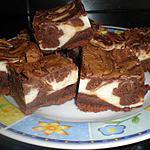 recette brownie cheesecake