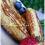 recette Crêpes moelleuses au babeurre