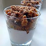 recette Verrine de pommes & coings confits au miel et 4 épices