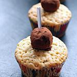 recette Cupcakes à la truffe au chocolat