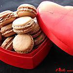 recette Macarons ganache montée au chocolat