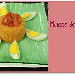 recette Mousse de tomate