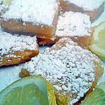 recette Carré au citron