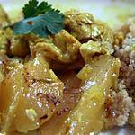recette tajine de poulet aux poires