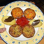 recette Flans (Courgettes,Carottes)