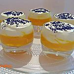 Verrine de courge butternut et chantilly